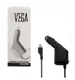 Juodas mašininis įkroviklis VEGA mikro USB 1A