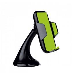S-STYLE mašininis telefono laikiklis VEGA juodai-žalias