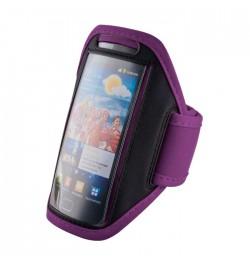 Telefono dėklas ant rankos Samsung Galaxy S5 violetinis
