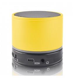Geltona nešiojama beleidė Bluetooth garso kolonėlė BS-100