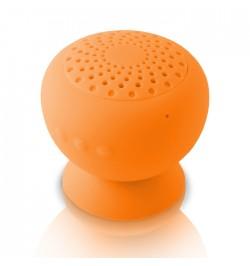 Atspari vandeniui oranžinė nešiojama beleidė Bluetooth garso kolonėlė MF-600