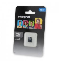 MicroSD atminties kortelė 16GB HC INTEGRAL