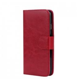 Raudonas dėklas Smart du viename Samsung Galaxy S6 (G920) telefonui