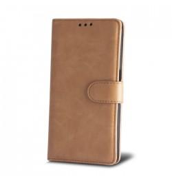 Rusvai gelsvas dėklas Smart Elegance Samsung Galaxy J500 telefonui