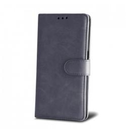 Pilkas dėklas Smart Elegance Samsung Galaxy J500 telefonui