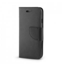 Juodas dėklas Smart Fancy Huawei P8 Lite telefonui