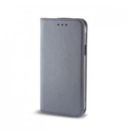Pilkas dėklas Smart Magnet Samsung Galaxy A5 2016 (A510) telefonui