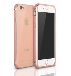 """Vario spalvos aliuminis dėklas iPhone 6 telefonui """"Alu bumper mirror"""""""