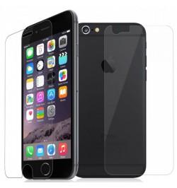 Apsauginiai grūdinti stiklai Apple iPhone 6/6s telefonui (Priekiui ir galui)