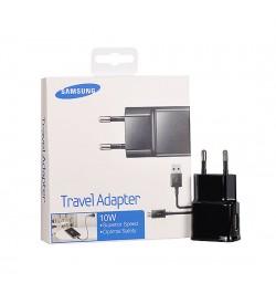 Originalus juodas Samsung kroviklis + Micro USB laidas