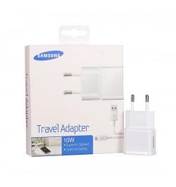 Originalus baltas Samsung kroviklis + Micro USB laidas