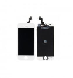 Telefono iPhone 5S ekranas LCD + Touch Panel HQ TM PLUS baltas