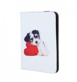 Universalus planšetinio kompiuterio dėklas Puppy-heart for tablet 7-8