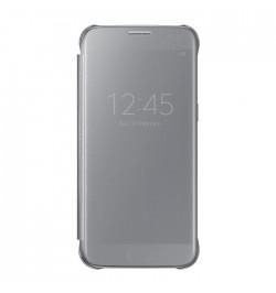 Originalus dėklas Samsung Galaxy S7 View Cover (sidabrinis)