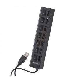 USB šakotuvas 1x7
