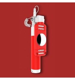 Asmenukės lazda SelfieStick DEVIA 360 red