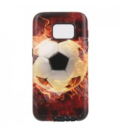 Dėklas Fashion 2w1 Football 1 Samsung Galaxy A5 2016 telefonui