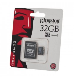 MicroSD atminties kortelė 32GB class10 KINGSTON