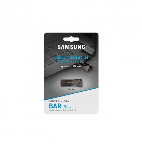 Samsung Bar Plus flash memory USB 3.1 (32 GB) titan gray